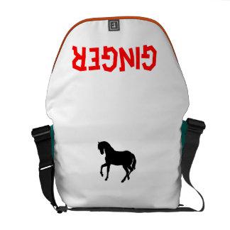 messenger baghäst kurir väskor