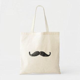 Messieurss Moustache hänger lös Budget Tygkasse