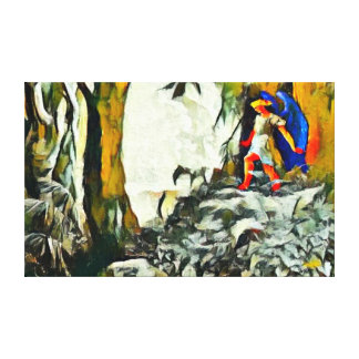 Mest borttappad akryl för populärt paradis målar canvastryck