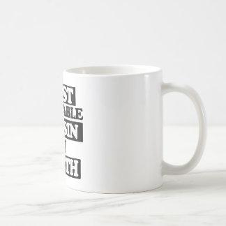 Mest förtjusande kusin kaffemugg