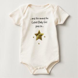Mest gullig baby Flicka-Michelle Creeper