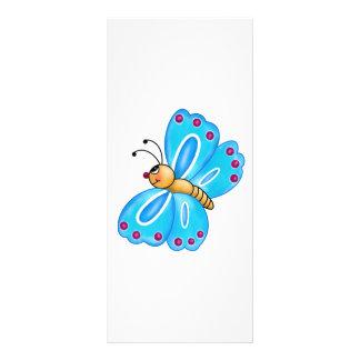Mest gullig lite fjäril anpassade rackkort