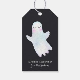 Mest gullig lite spöke Halloween Presentetikett