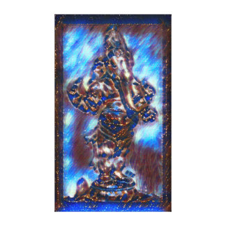 Mest populär akryl för Ganesha gudomande målar Canvastryck