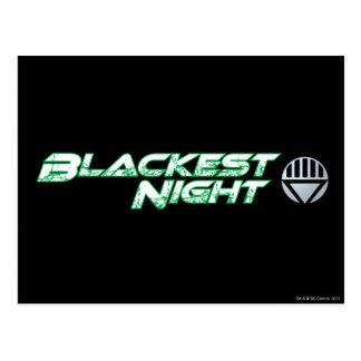 Mest svart nattlogotyp 2 vykort