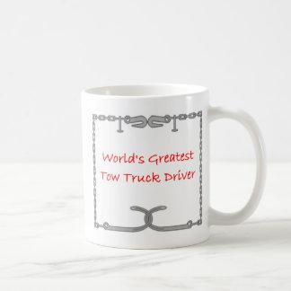 Mest underbar bärgningsbilchaufför för världar kaffemugg