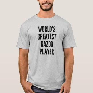 Mest underbar Kazoospelare för världar T-shirt