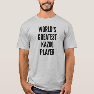 Mest underbar Kazoospelare för världar T-shirts