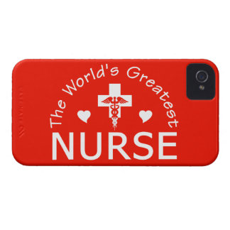 Mest underbar sjuksköterskablackberry boldfodral Case-Mate iPhone 4 skydd