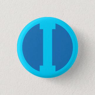 Mestre Iodo logotyp Mini Knapp Rund 3.2 Cm