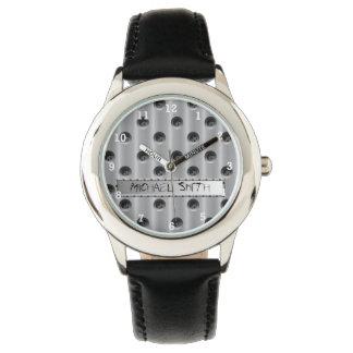 Metall-Look Armbandsur
