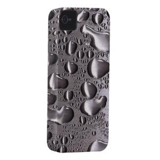 Metall tappar vätskeblackberry boldFodral-Kompisen Case-Mate iPhone 4 Fodral