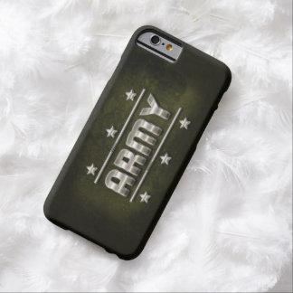 Metallarmétext Barely There iPhone 6 Skal