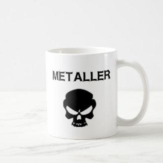 Metaller Kaffemugg