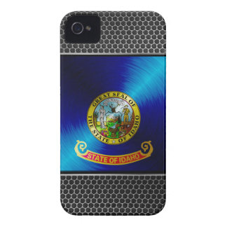 MetallIdaho flagga Case-Mate iPhone 4 Fodral