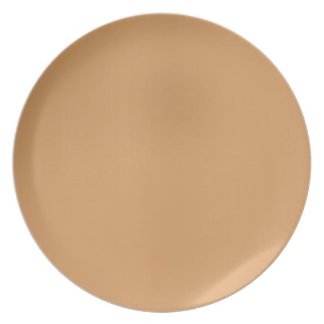 Metallisk Brons-Färgad II pläterar Tallrik