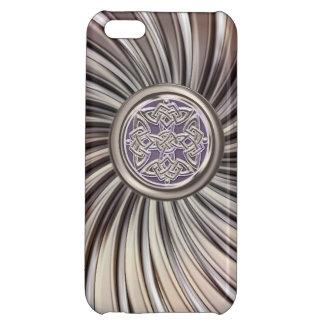 Metallisk Celtic skyddar fnurran på iPhone 5C Skal