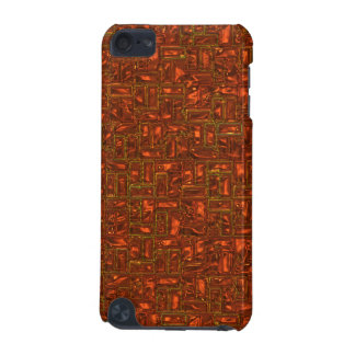 Metallisk geometrisk mönsteripod touch case iPod touch 5G fodral