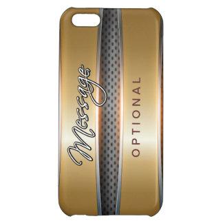 Metallisk iphone case för bakgrundskonst 4 iPhone 5C mobil skal