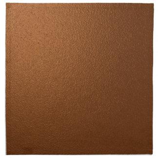 Metallisk mörk Brons-Färgade servetter