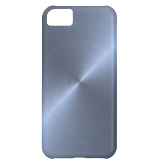 Metalliska blått iPhone 5C fodral