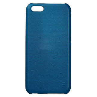 Metalliska djupa havblått iPhone 5C mobil skal