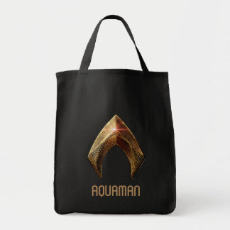 Metalliskt Aquaman symbol för rättvisaliga | Tygkasse