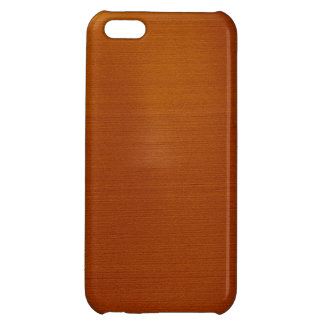 Metalliskt förkoppra iPhone 5C mobil skydd