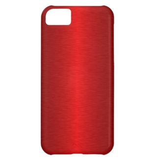 Metalliskt rött iPhone 5C fodral