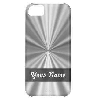 Metalliskt tittar silver iPhone 5C fodral