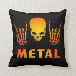 Metallskallen kudder kudde