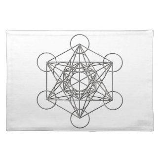 Metatron silver skuggar bordstablett