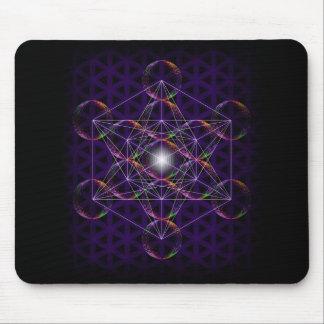 Metatrons kub/blomma av liv #2 musmatta