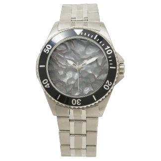 Meteorite _Men's_Stainless_Steel_Watch. Armbandsur