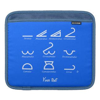 Meteorology Sleeve För iPads