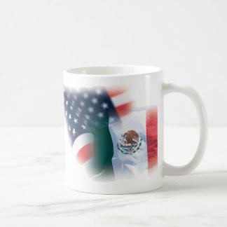 Mexicansk amerikankaffemugg med örnen kaffemugg
