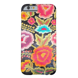 Mexicansk broderidesign barely there iPhone 6 skal