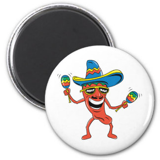 Mexicansk Chilipeppar Magnet