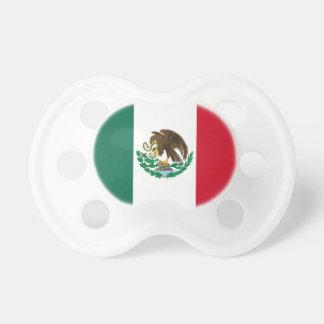 Mexicansk flagga för babynappar napp