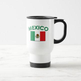 Mexicansk flagga (grönt) resemugg