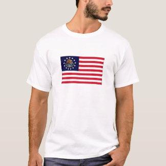 Mexicansk flaggaskjorta 1776 för amerikan t shirts