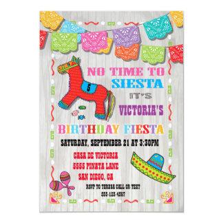 Mexicansk inbjudan för Fiestabarns födelsedagparty