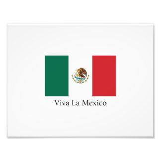 Mexicansk prideflaggaViva la Mexico Fototryck