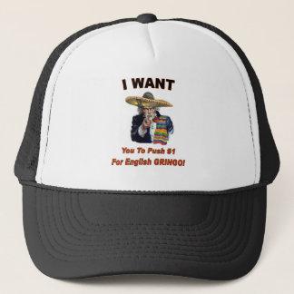 Mexicansk Tio Sammy hatt Truckerkeps