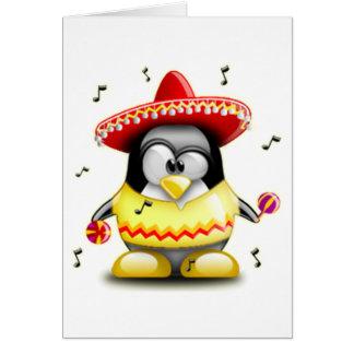 Mexicansk Tux Hälsningskort