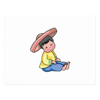 MEXICANSKT BARN VYKORT