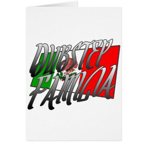 Mexico Dubstep Familia camisetaMX DUBSTEP Hälsningskort