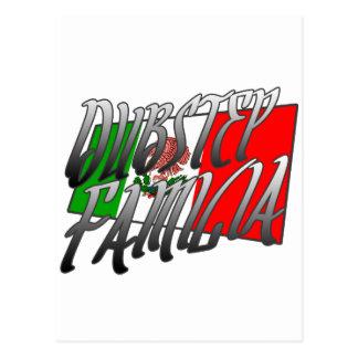 Mexico Dubstep Familia camisetaMX DUBSTEP Vykort