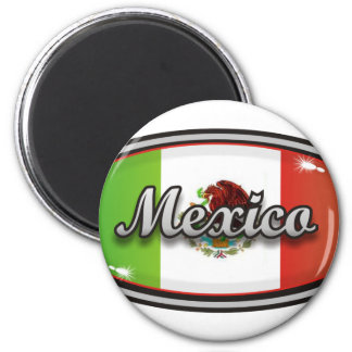 Mexico flagga 1 magnet