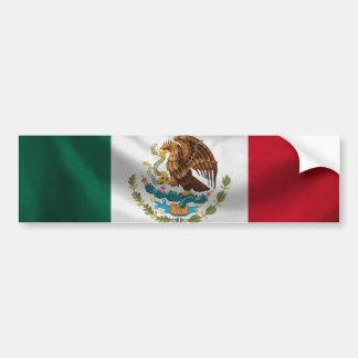 Mexico flaggabildekal bildekal
